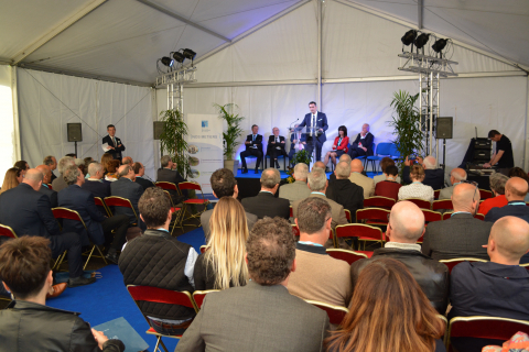 Inauguration des installations de l'OIEau - Discours inaugural par les représentants